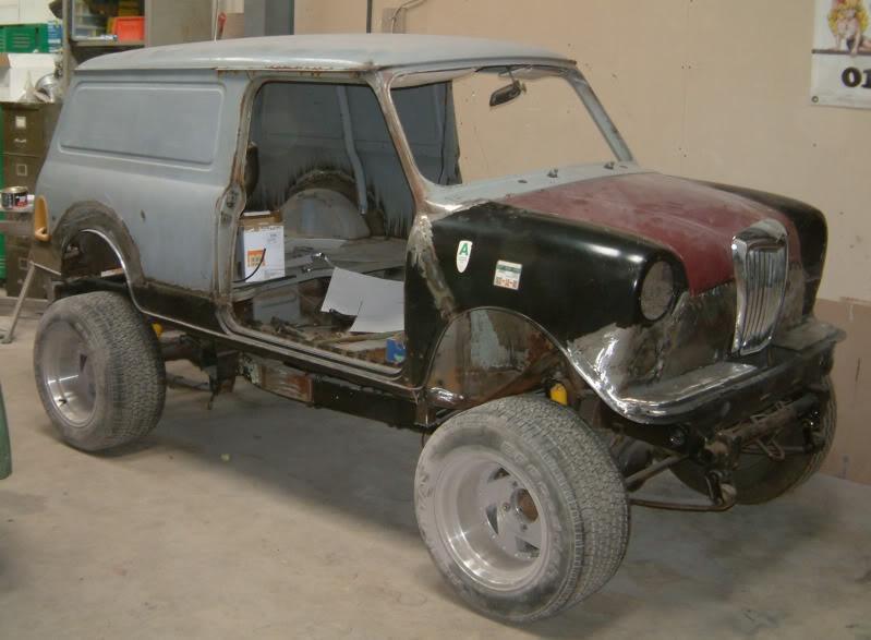 Roadrats 1978 Austin Mini Vhoist Virtual Car Showroom And Garage