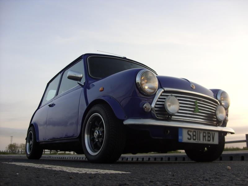 Scotty86 39 s 1999 austin mini vhoist virtual car showroom for Garage austin mini